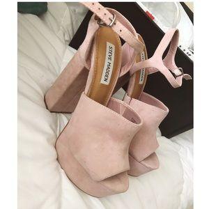 Pink Steve Madden heels